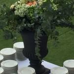 decoration florale 80 ans toques blanches lyonnaises